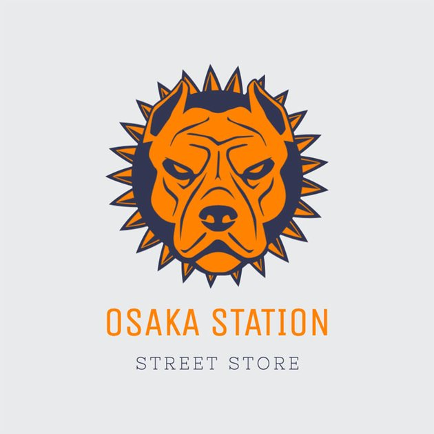 Streetwear Clothing Logo Design With Hand-Drawn Illustrations
