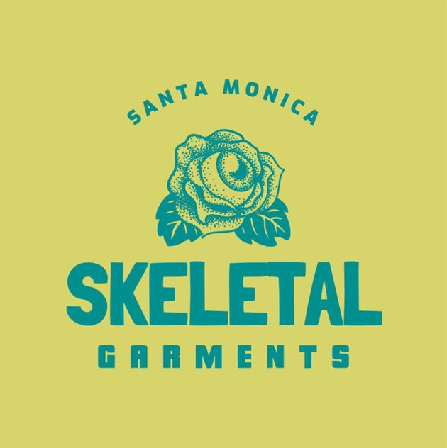 Cool Streetwear Logo Featuring a Skull Icon