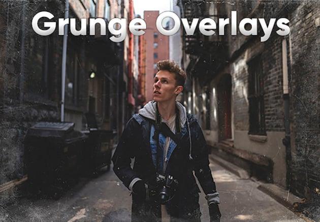 20 Grunge Overlay Photoshop