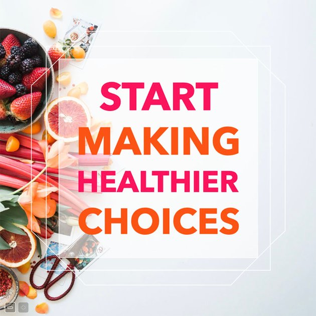 Healthy Lifestyle Facebook Post Template