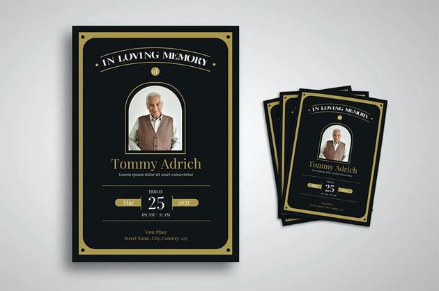 Funeral Program Design Template