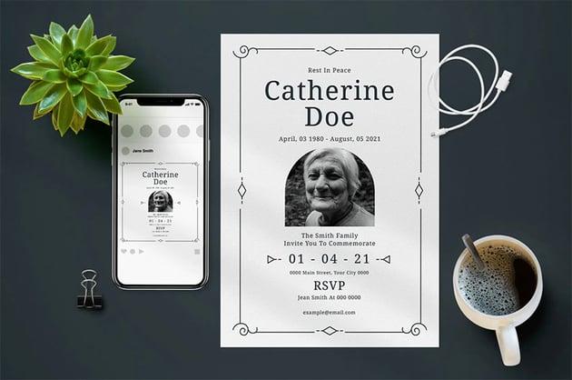 Funeral Agenda Template