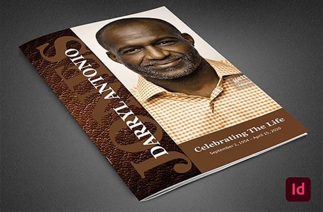 Homegoing Obituary Program Template