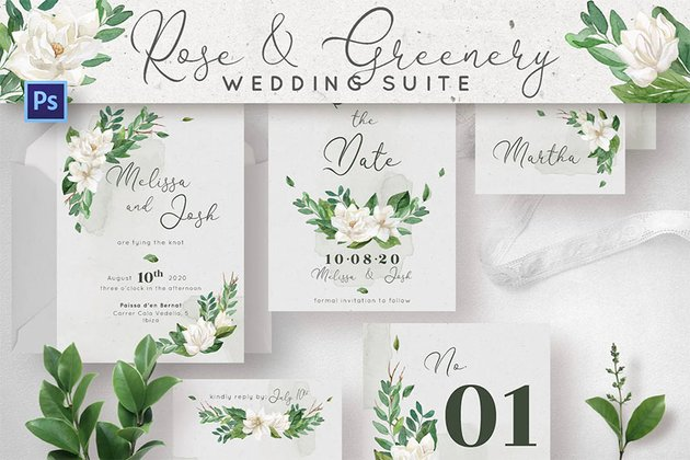 Rose & Greenery Wedding Suite