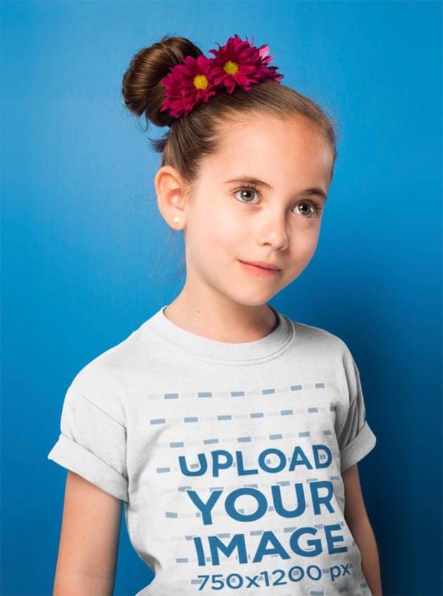 Youth T-Shirt Mockup