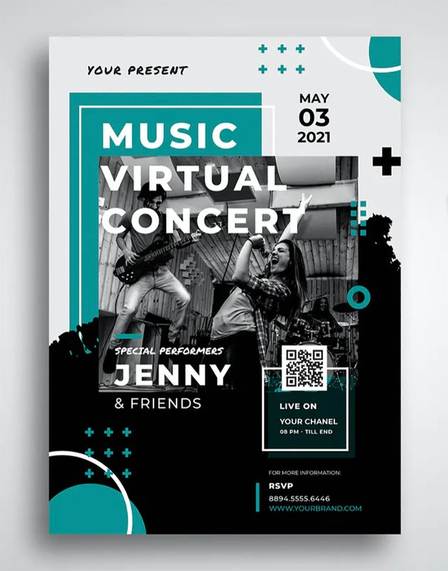 Photoshop Music Poster Templates