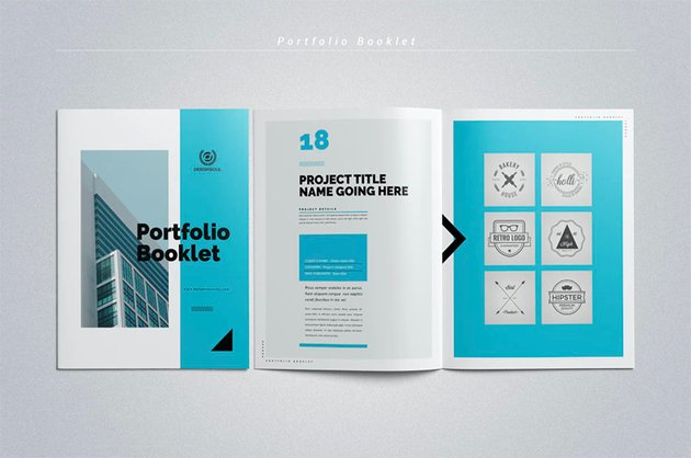 Print Booklet in InDesign Template