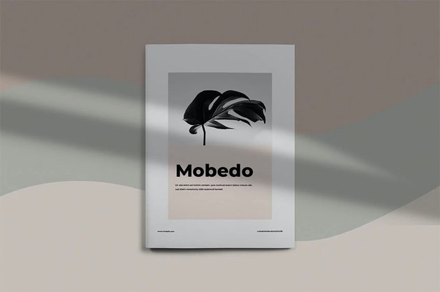 Mobedo Booklet Template