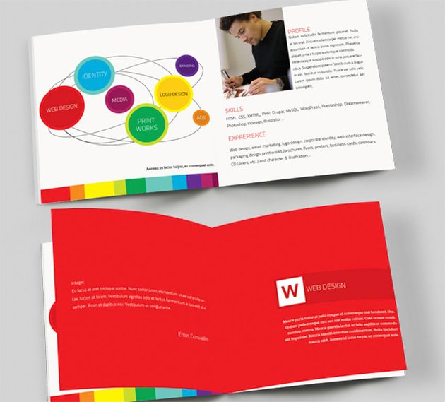 Colourful Booklet Example