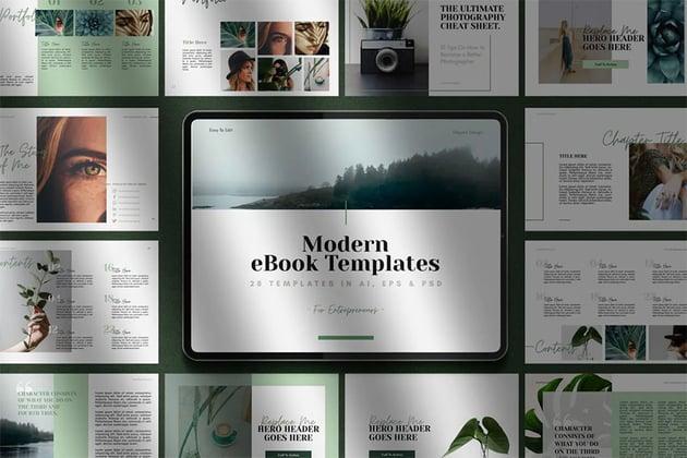 Multi-purpose eBookTemplate
