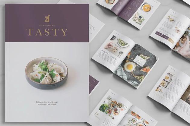 Tasty eBook Cookbook Template