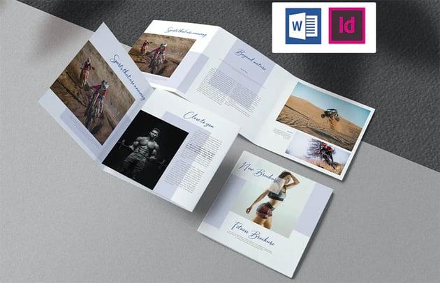 Sport & Fitness Brochure Template