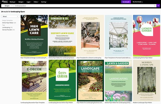 Best Landscaping Flyers - Placeit