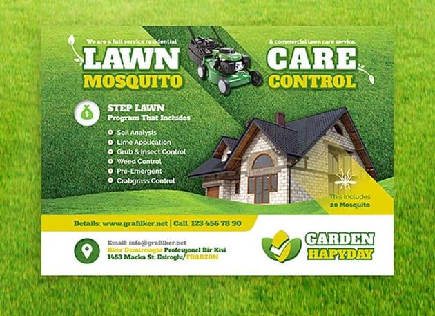 gardening flyers