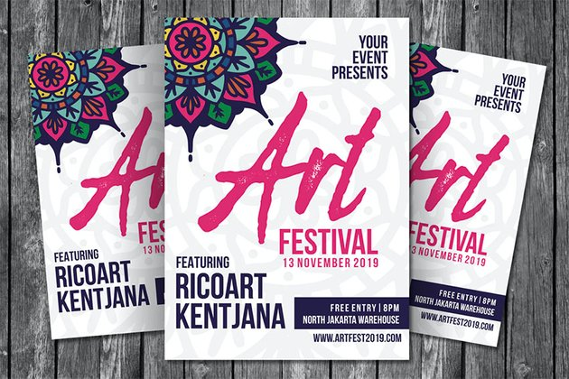 Art Festival Flyer Template