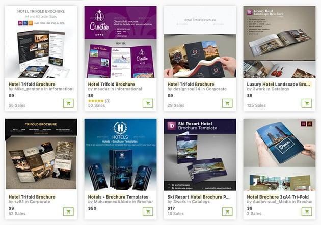 Premium Downloads From GraphicRiver