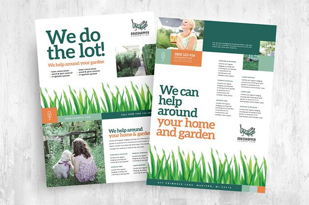 Lawn Care Business Flyers