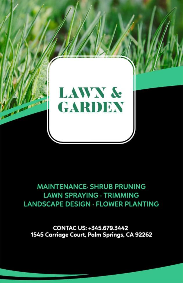 Lawn Cutting Flyers