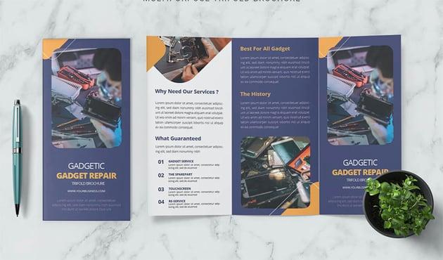Gadgetic Flyer Leaflet