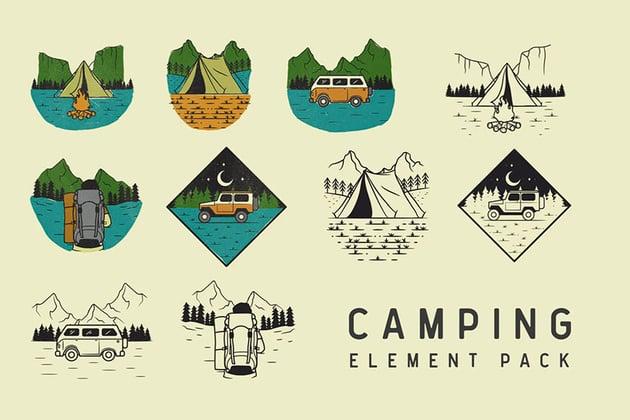 Camp Logo Ideas