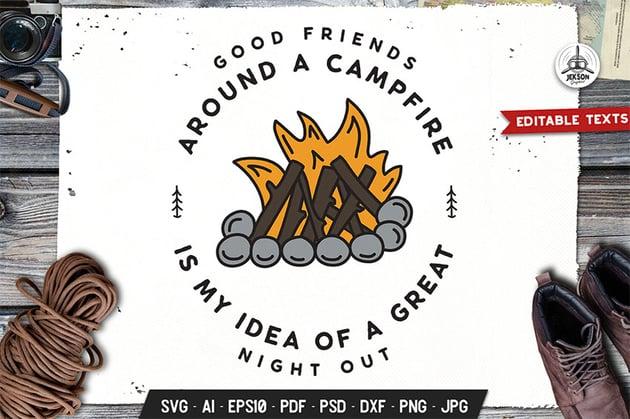 Camping Logo Design