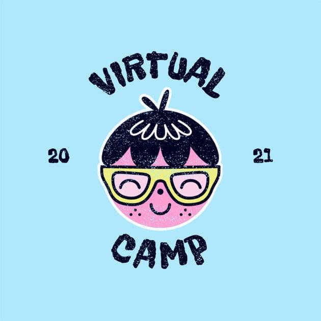 Virtual Camp Logo Template