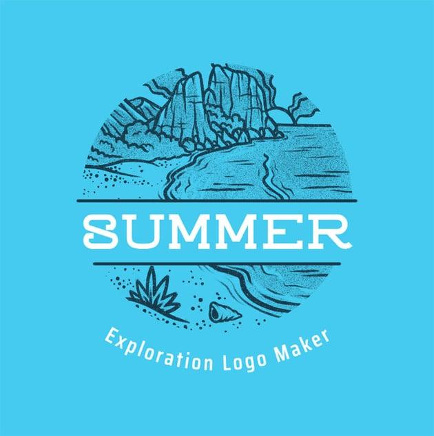 Exploration Teen Camp Logo