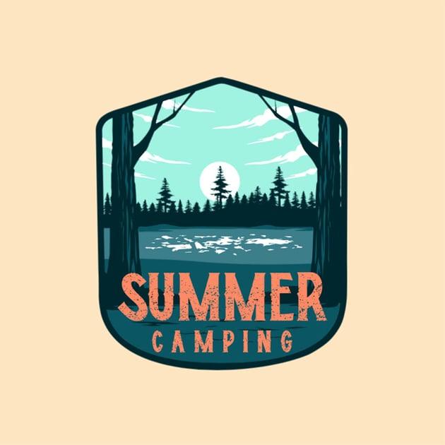 Camp Logo Summer