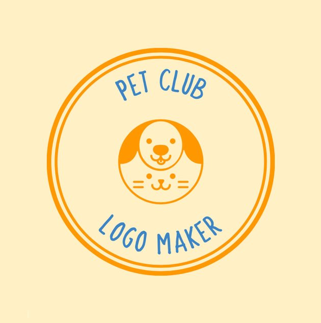 Pet Club Camp Logo