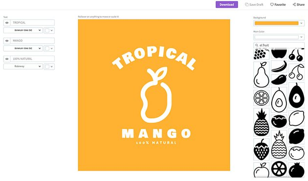 How to Create a Tropical Logo with the Logo Maker at Placeit