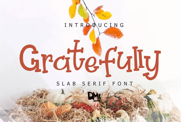 Handwritten Slab Serif Font