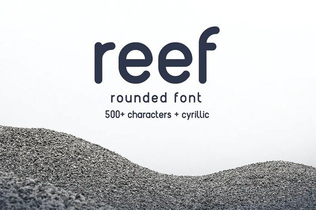 Reef Popular Rounded Font