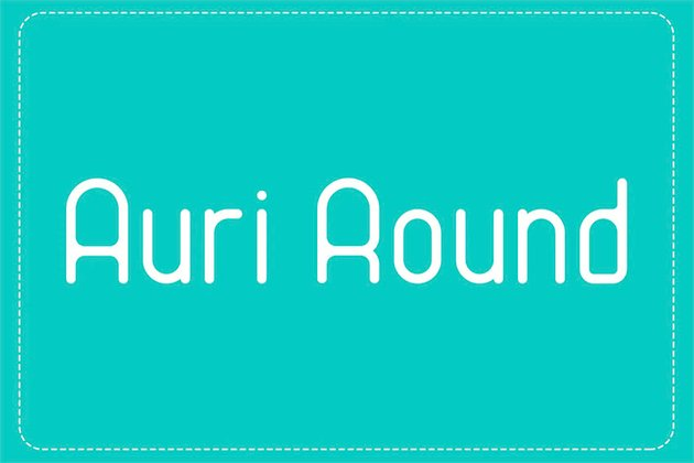 Auri Rounded Sans Serif Font