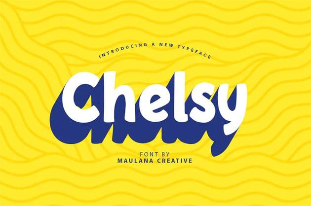 ChelsyRounded Typeface