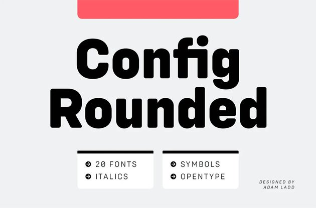 Config Rounded Sans Font