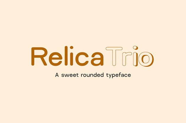 Relica Trio Rounded Sans Font
