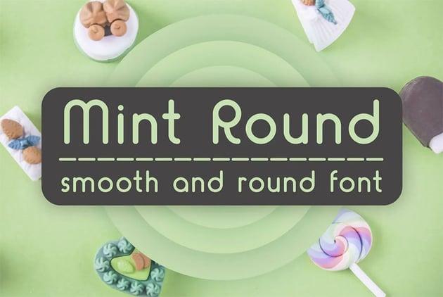 Mint Rounded Font Sans Serif