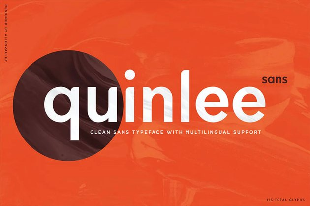 Quinlee Rounded Font Sans Serif