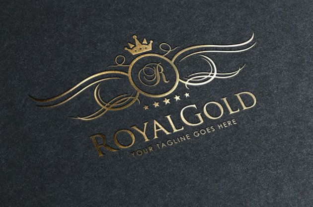 Small Gold Crown Logo