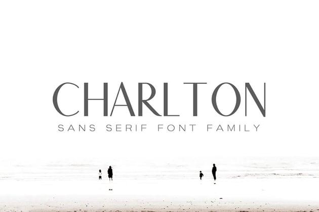 Charlton Sans Serif Font Family