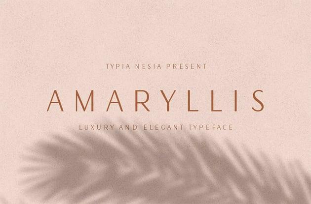 Amaryllis Sans