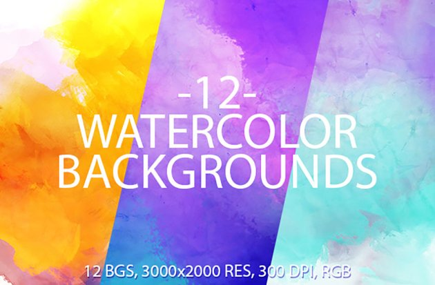 Watercolor Computer Wallpaper