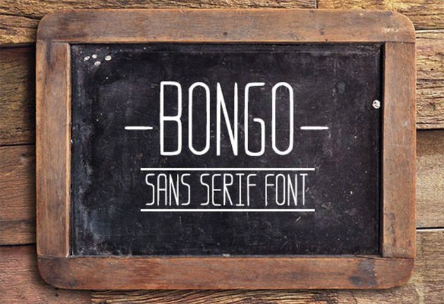 Bongo Clean Sans Serif Font