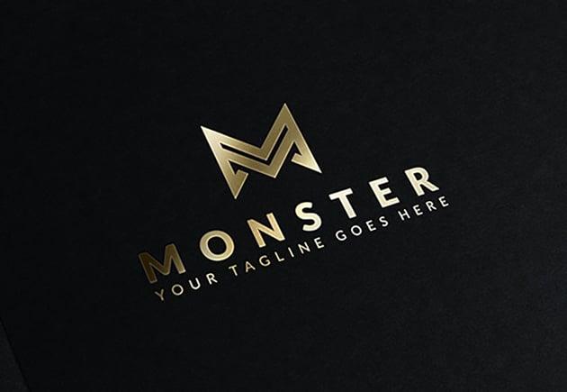 Monster Gold Logo
