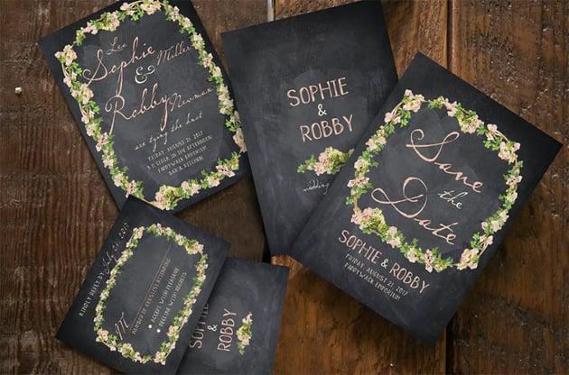 Vintage Flower Wedding Suite