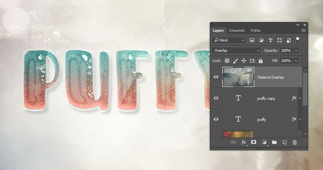 Add the Texture Overlay