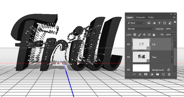 Frill 3D Layer