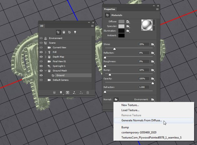Generate Normals from Diffuse