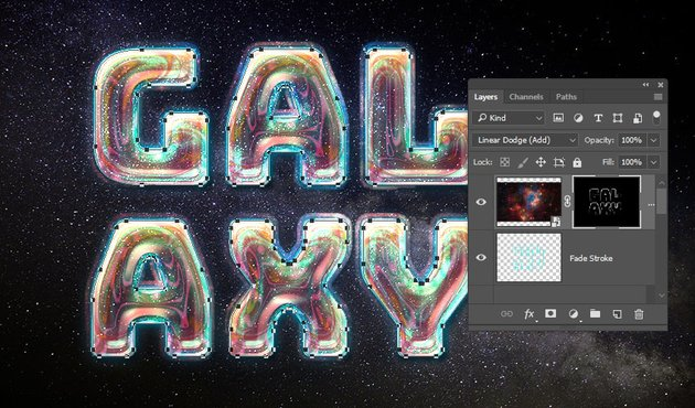 Fill the Layer Mask Selection
