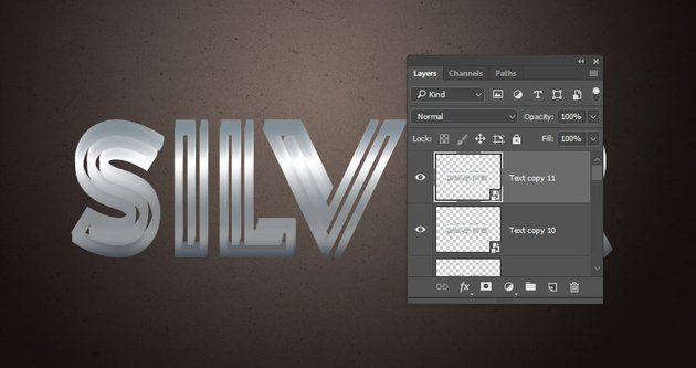 Create the Extrusion Copy Layers